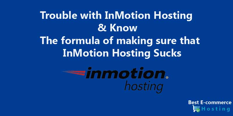 Trouble with InMotion Hosting