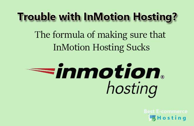 Trouble with InMotion Hostings